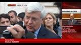 30/09/2013 - Romani: troveremo una soluzione unitaria