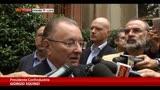 30/09/2013 - Squinzi: speriamo di non essere commissariati dall'Europa