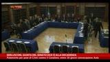 05/10/2013 - Berlusconi, la Giunta del Senato dice sì alla decadenza