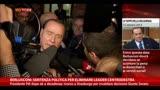 05/10/2013 - Sì alla decadenza, Berlusconi: Sentenza politica