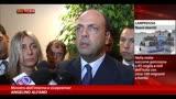Lampedusa, Alfano:Abolendo Bossi-Fini problema non risolto