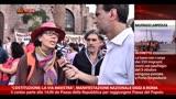 Costituzione, Manifestazione Roma: la voce dei partecipanti