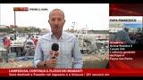 16/10/2013 - Lampedusa, continua il flusso dei migranti