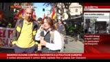 18/10/2013 - Corteo contro l'austerità, parlano i Vigili del Fuoco