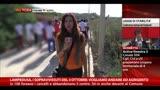 21/10/2013 - Lampedusa, i sopravvissuti: vogliamo andare ad Agrigento