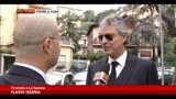 22/10/2013 - Andrea Bocelli si laurea in canto a La Spezia