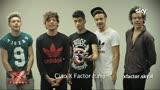 24/10/2013 - Il saluto dei One Direction al pubblico di X Factor Italia