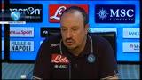 """29/10/2013 - Napoli, Benitez: """"Siamo in crescita"""""""