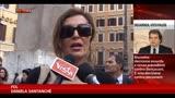 30/10/2013 - Decadenza Berlusconi, il commento di Daniela Santanchè