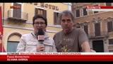 31/10/2013 - Corteo movimenti per la casa, tensione con la polizia