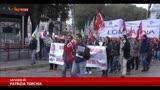 31/10/2013 - Sciopero turismo, i lavoratori in corteo a Milano