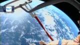 La torcia olimpica di Sochi a spasso nello spazio