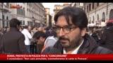 """18/11/2013 - Roma, protesta in piazza per il """"Concorsone"""""""