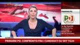 19/11/2013 - Primarie Pd, confronto tra i cadidati su Sky TG24