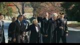 20/11/2013 - 50 anni morte JFK, l'omaggio degli Obama e dei Clinton