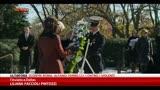 20/11/2013 - Obama e Clinton rendono omaggio a John Fitgerald Kennedy