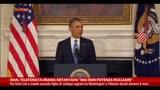 "25/11/2013 - Iran, telefonata Obama-Netanyahu ""Mai Iran potenza nucleare"""