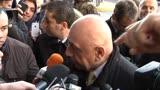 25/11/2013 - Milan, Galliani sul caso di Balotelli