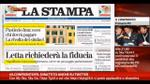 Rassegna stampa nazionale (29.11.2013)