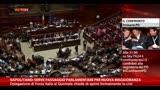 Napolitano: passaggio parlamentare per nuova maggioranza