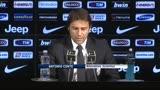 """30/11/2013 - Juventus, Conte: """"Vietato distrarsi"""""""