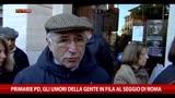 08/12/2013 - Primarie PD, gli umori della gente in fila al seggio di Roma