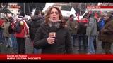 12/12/2013 - Protesta FIOM, in mattinata incontro a palazzo Chigi