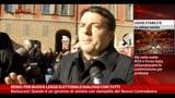 18/12/2013 - Renzi: per nuova legge elettorale dialogo con tutti