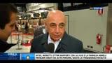 """24/12/2013 - Milan, Galliani: """"Non è un fantastico Natale"""""""