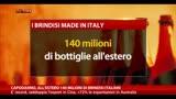 Capodanno, all'estero 140 milioni di brindisi italiani