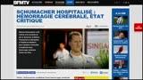 29/12/2013 - Stampa francese: peggiorate le condizioni di Schumacher