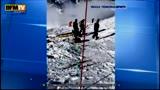 31/12/2013 - Incidente Schumacher, le prime immagini dei soccorsi