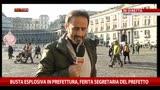 31/12/2013 - Busta esplosiva Napoli, ferita la segretaria del prefetto
