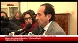 31/12/2013 - Busta esplosiva Napoli, parla il Viceprefetto Esposito
