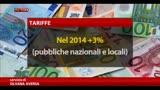 Unioncamere, nel 2014 tariffe nazionali e locali al +3%