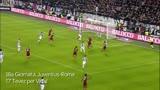 07/01/2014 - Vidal apre contro la Roma, ma mezzo gol è di Tevez
