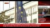 Crisi, la BCE lascia invariati i tassi d'interesse