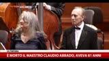 E' morto il Maestro Claudio Abbado, aveva 80 anni
