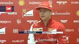 """25/01/2014 - Raikkonen: """"E' bello essere tornato in Ferrari"""""""