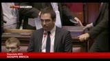 """31/01/2014 - M5S:""""Abbandoniamo l'aula, no alle scempio delle istituzioni"""""""