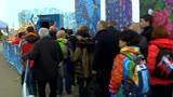 Sochi, un po' di shopping Olimpico con Federica Masolin