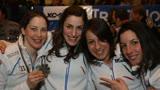 Sochi, l'Italia del salto con gli sci donne