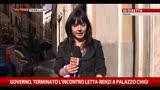 12/02/2014 - Governo, faccia a faccia tra Letta e Renzi a Palazzo Chigi