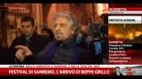 """18/02/2014 - Grillo ai giornalisti: """"Siete morti viventi"""""""