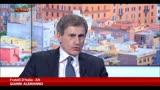 28/02/2014 - Roma, Alemanno: disavanzo passato da 165 a 815mln con Marino