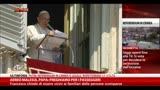 16/03/2014 - Aereo Malesia, Papa: preghiamo per i passeggeri