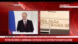 """18/03/2014 - Putin:""""Non vogliamo la divisione dell'Ucraina, non ci serve"""""""