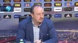 """19/03/2014 - Benitez, obiettivo secondo posto: """"Ma prima c'è il Porto"""""""