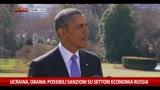 20/03/2014 - Obama: possibili sanzioni su settori economia Russia