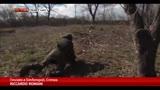 24/03/2014 - Crimea, soldati russi occupano la base navale di Fedosia